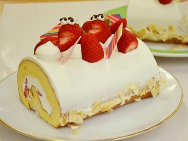 米粉のロールケーキ