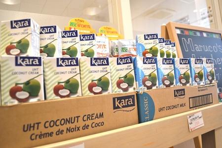 ココナッツクリーム ココナッツミルク
