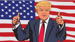 第45代アメリカ大統領