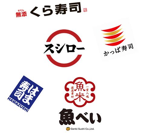 大手寿司チェーン店