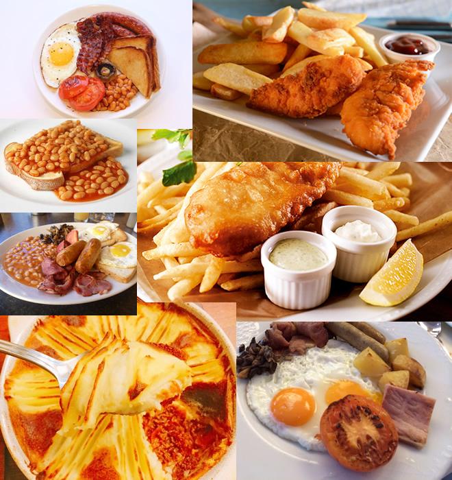 世界の様々な料理