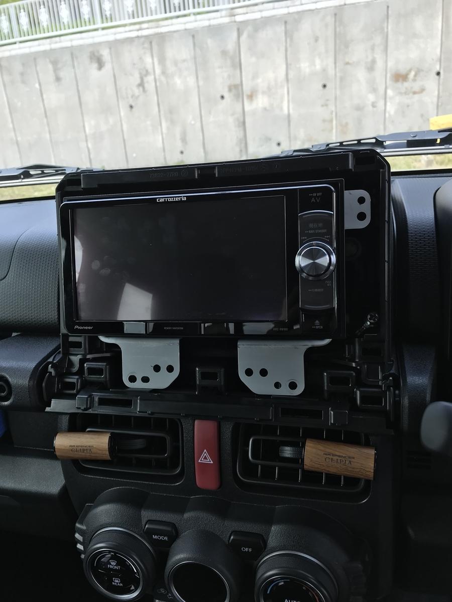 新型ジムニーJB74W ETC取り付け
