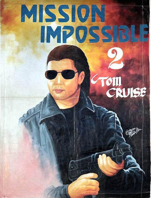ミッションインポッシブル2_ガーナ_映画ポスターの画像