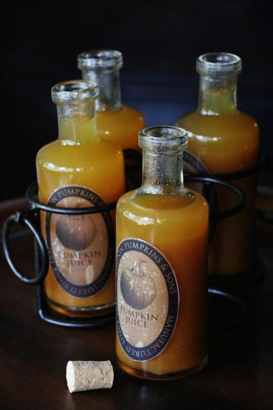 Pumpkin juice_魔女かぼちゃジュースの画像