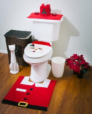 サンタトイレの画像