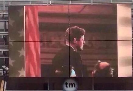 ケネディ博物館のパネルの画像
