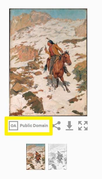 メトロポリタン美術館_パブリックドメイン画像の見つけ方5の画像