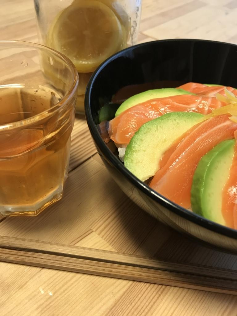 塩レモンを使った寿司