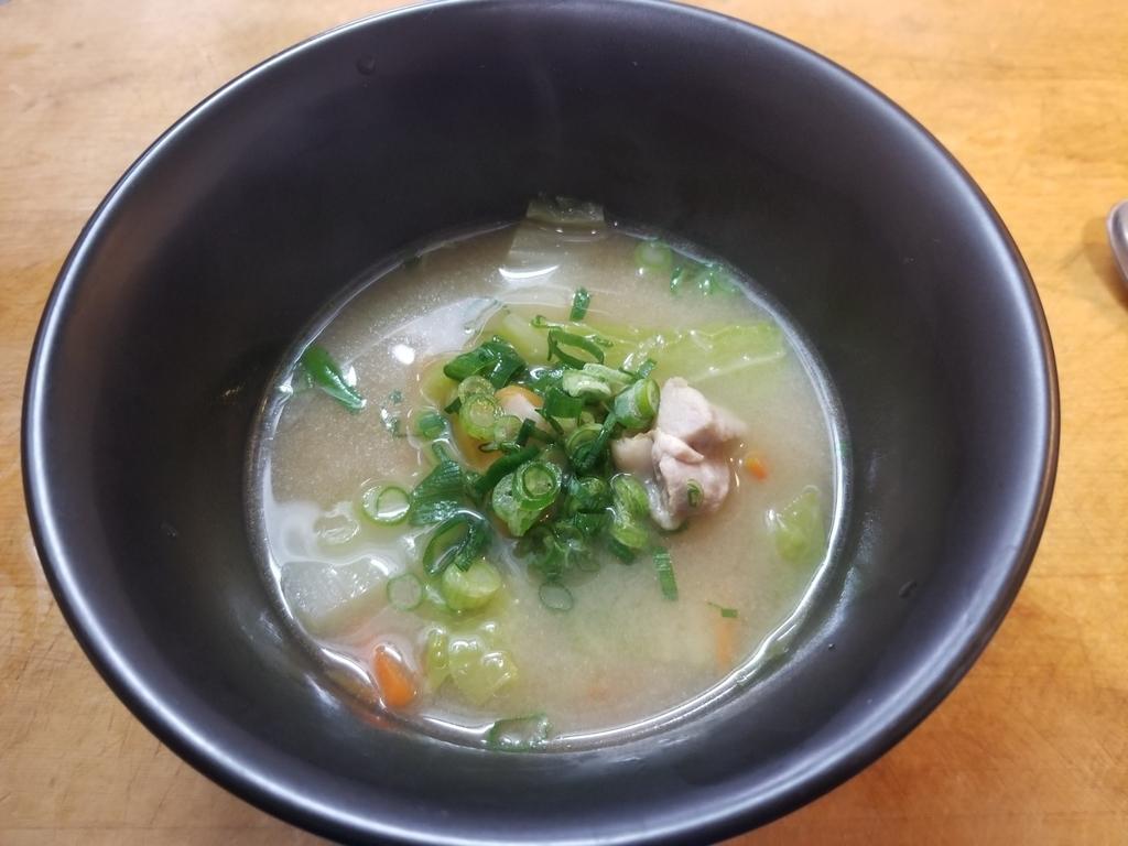 スープ、とり野菜、前島食堂、鶏肉料理