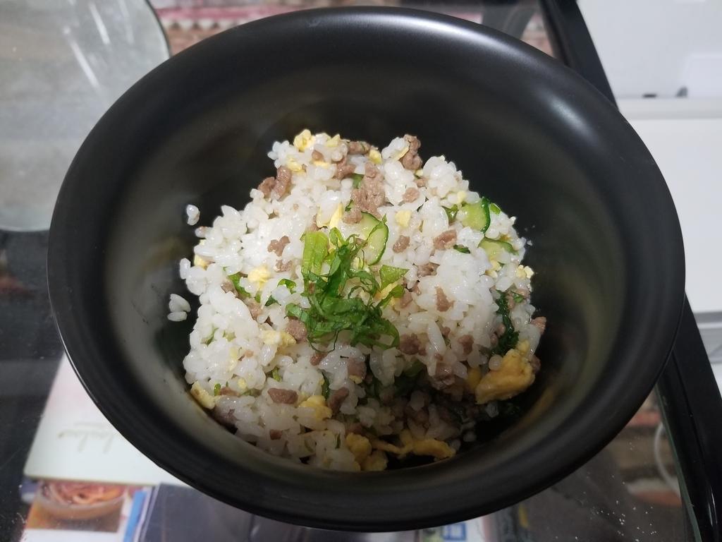 簡単レシピ 混ぜご飯