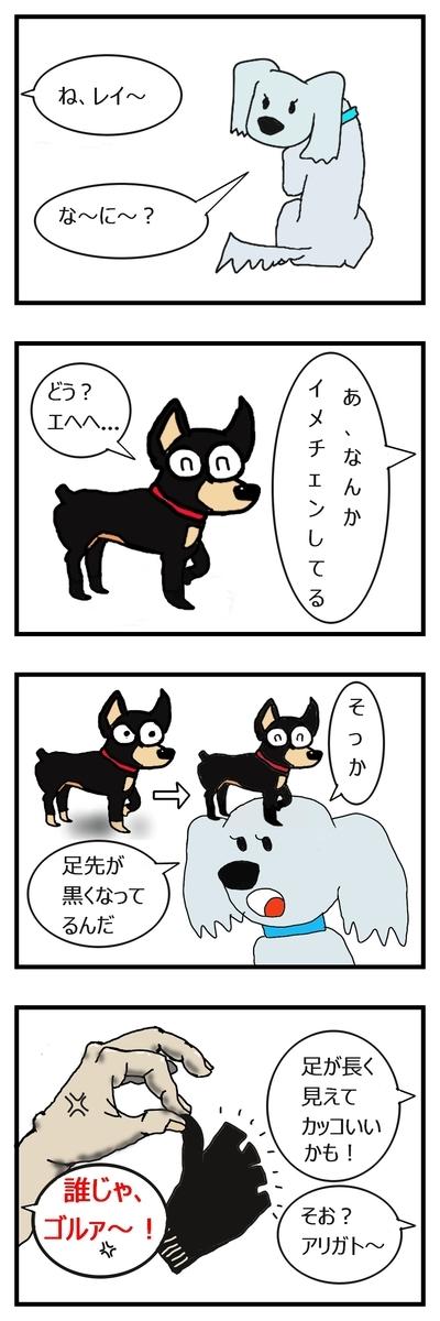犬のイメチェン