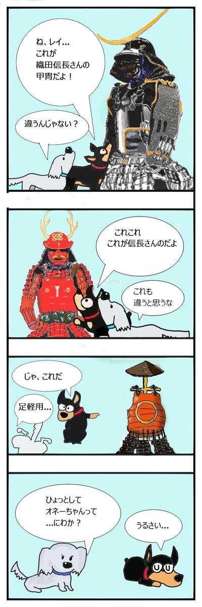 伊達政宗と真田幸村の甲冑