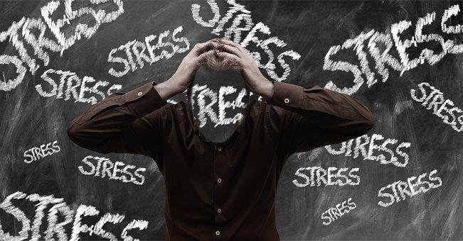 ストレスに苛まれる