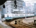 特急白鳥号(5001M) 485系上沼垂色@大阪駅