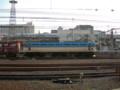 EF81-502けん引 貨物列車 京都駅
