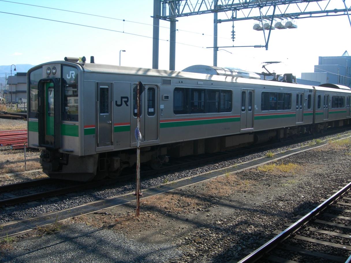 クモハ701ー5501