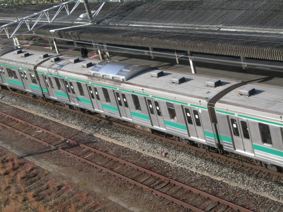 サハ204-22(JR東日本 川越電車区)@板橋