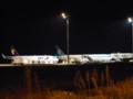 神戸空港での飛行機風景