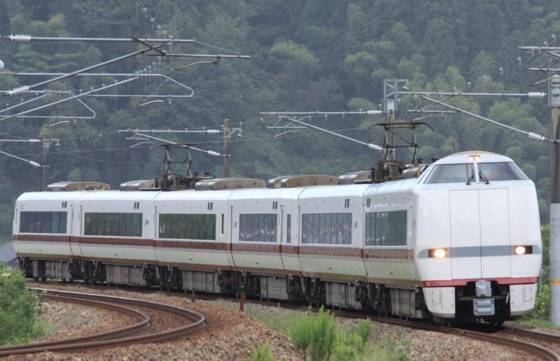 特急はくたか7号(7M) 681系8000番代@津幡~倶利伽羅