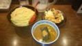 [つけ麺] 三田製麺所 阿倍野店 から揚げランチ400g