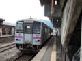 芸備線 普通列車(1832D列車) キハ120系2両@三次
