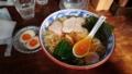 [白河ラーメン] とら食堂  ワンタン麺