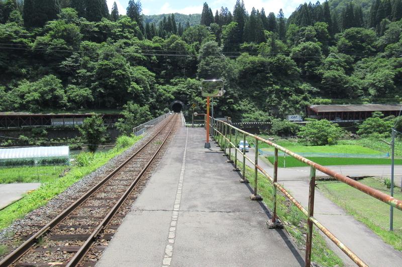 JR西日本 越美北線 越前下山駅