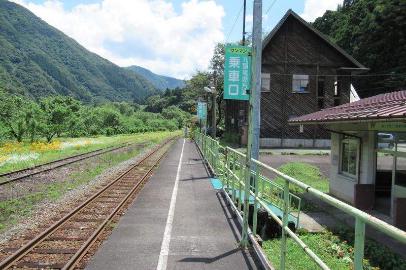 JR西日本 越美北線 勝原駅