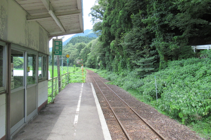 JR西日本 越美北線 下唯野駅
