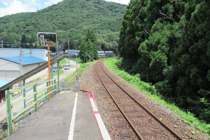 JR西日本 越美北線 柿ケ島駅