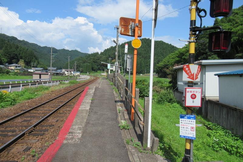 JR西日本 越美北線 計石駅