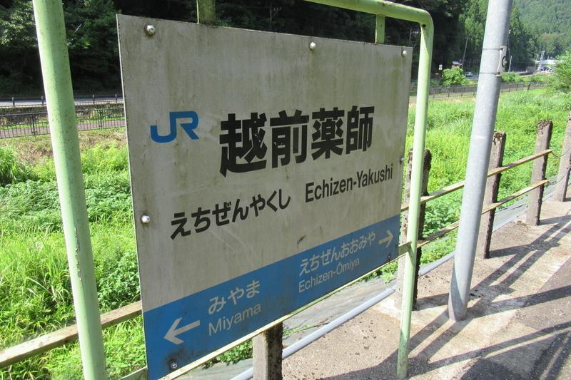 JR西日本 越美北線 越前薬師駅
