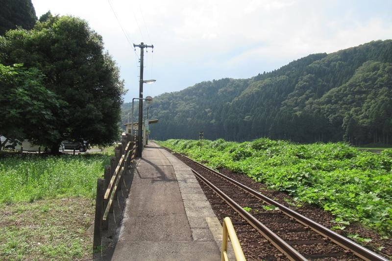 JR西日本 越美北線 小和清水駅
