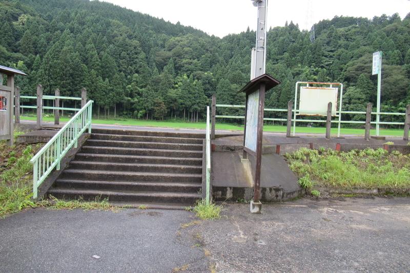 JR西日本 越美北線 一条谷駅