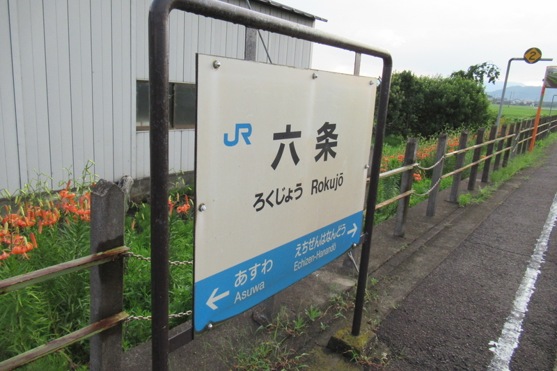 JR西日本 越美北線 六条駅