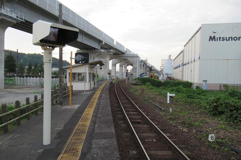 JR西日本 越美北線 越前花堂駅