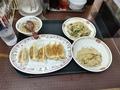 餃子の王将 餃子+S野菜炒め+S焼飯 807円