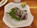 釧路産 大鰯の刺身