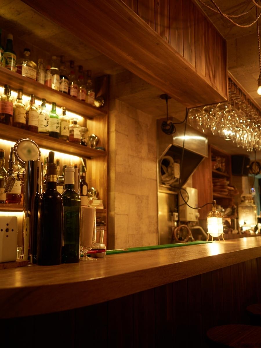 バーカウンター,BAR,酒