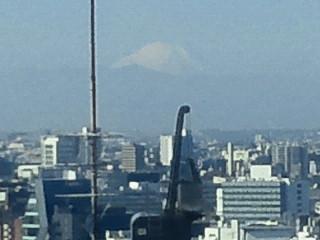 ORACLE 青山センターからの富士山〜♪