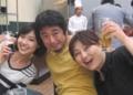 2013(H25)0609 大木ちゃん塚さん真実ANAで打ち上げ