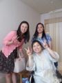 2013 0705 えりかサン、真実、岩井さん