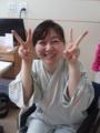 2013 0805 真実。笹川尚美さんに会ってビックリ元気
