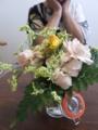 2013 0815 母生け花