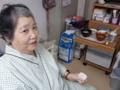 2013 1115 辰巳さん、エビフライに喜ぶ