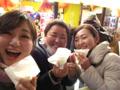 20160209桃太郎の豚まん 浜さん、あきチャン、真実