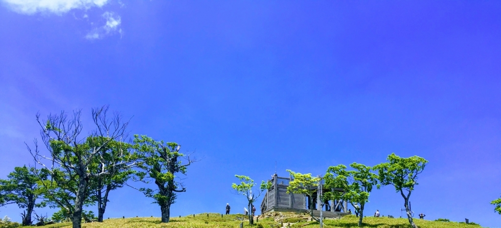 大台ヶ原山山頂