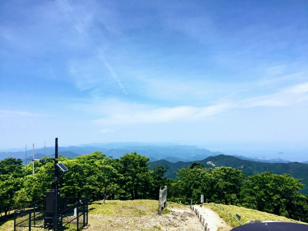 大台ヶ原山頂展望台