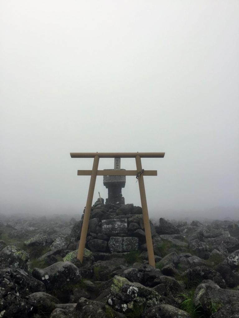 蓼科神社の奥宮