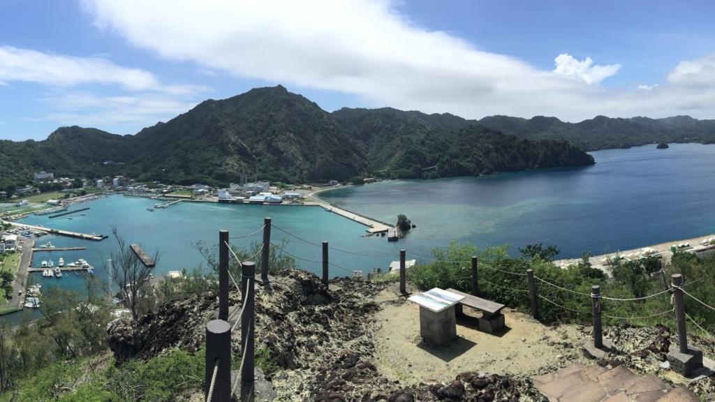 小笠原の大神山山頂展望台